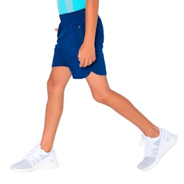 one8 VK Kids' Active Shorts, Gibraltar Sea, small-IND