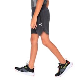 one8 VK Kids' Active Shorts, Dark Gray Heather, small-IND