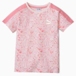 Monster AOP Kids-T-shirt, Rosewater, small