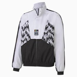 Tailored for Sport OG Men's AOP Track Jacket, Puma Black, small