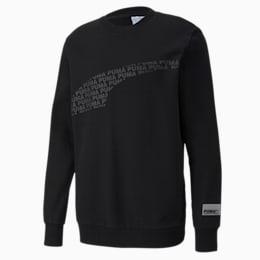 Avenir Graphic Crew Neck Sweater