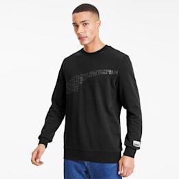 Avenir Graphic Crew Neck Sweater, Puma Black, small-SEA