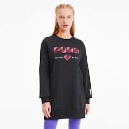 Digital Love Women's Dress, Puma Black, small-SEA