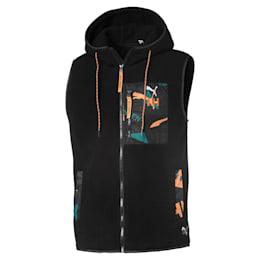PUMA x HELLY HANSEN Polyester Vest, Puma Black, small