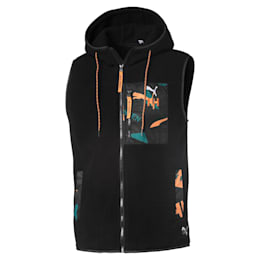 PUMA x HELLY HANSEN Polyester-vest, Puma Black, small