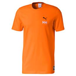 T-shirt a girocollo in cotone PUMA x HELLY HANSEN, Orange Popsicle, small