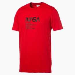 Space Explorer Men's Tee, High Risk Red, small