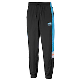PUMA x TETRIS Men's Track Pants, Puma Black, small