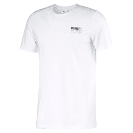 PUMA x TETRIS T-Shirt, Puma White, small