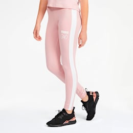 PUMA x HELLO KITTY Women's Leggings, Silver Pink, small