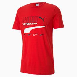 PUMA Club Men's Tee, High Risk Red, small