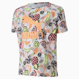Classics Fruit Mädchen T-Shirt, Puma White, small