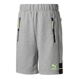 PUMA x CENTRAL SAINT MARTINS Men's Shorts, Light Gray Heather, small
