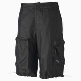 PUMA x CENTRAL SAINT MARTINS Herren Gewebte Shorts, Puma Black, small