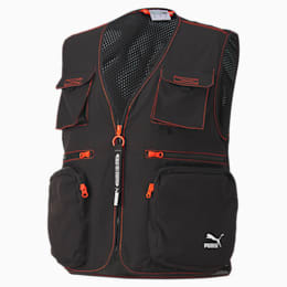 Tailored for Sport Industrial Woven Men's Vest, Puma Black, small