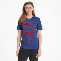 PUMA x BALMAIN グラフィック Tシャツ, Mazarine Blue, small-JPN