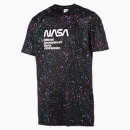 T-shirt con stampa Space Explorer uomo