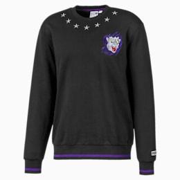 PUMA x PAUL STANLEY Men's Crewneck Sweatshirt, Puma Black, small
