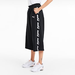 Evide 3/4 Length Women's Culottes, Puma Black, small