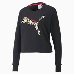 PUMA x CHARLOTTE OLYMPIA sweatshirt voor dames met ronde hals