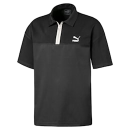 Men's Boxy Polo, Puma Black, small