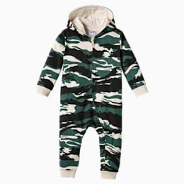Street Wear Camo Babies' Onesie, Bistro Green-AOP, small