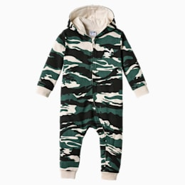 Street Wear Camo Babies Einteiliger Anzug, Bistro Green-AOP, small