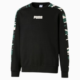 Street Wear T7 Kinder Sweatshirt, Puma Black, small