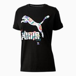 Camiseta con mangas dobladas Downtown para mujer