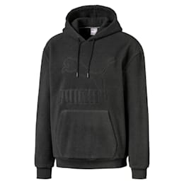 Winter Classics Fleece Men's Hoodie, Puma Black, small