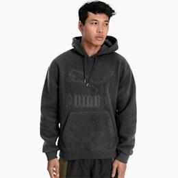 Winter Classics Fleece Men's Hoodie, Puma Black, small
