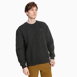Winter Classics Crew Fleece Men's Sweater, Puma Black, small