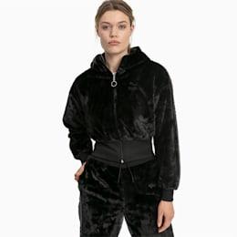 Haut Winter Classics Full Zip Fleece pour femme, Puma Black, small