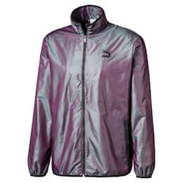 Iridescent Pack-jakke i vævet materiale til mænd