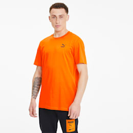 Recheck Pack Graphic Men's Tee, Vibrant Orange, small