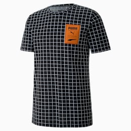 T-Shirt Recheck Pack Allover Print pour homme