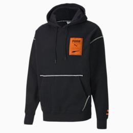 Sweatshirt com capuz Recheck Pack para homem, Cotton Black, small