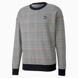 Sweatshirt com decote redondo Recheck Pack para homem