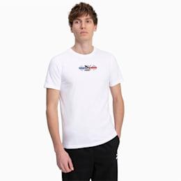 T-Shirt PUMA x RUBIK'S CUBE pour homme, Puma White, small