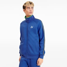 Men's Track Jacket, Dazzling Blue, small