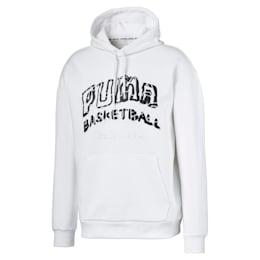 Since 73 hoodie voor heren, Puma White, small