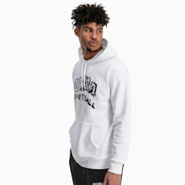 Sweat à capuche Since 73 pour homme, Puma White, small