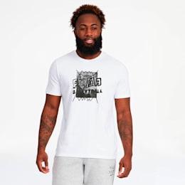 Camiseta Street para hombre, Puma White, pequeño