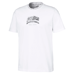 Teeth T-shirt voor heren, Puma White, small