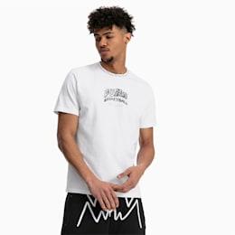 T-Shirt Teeth pour homme, Puma White, small