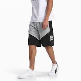 Shorts da basket Hoops da uomo, Puma Black, small