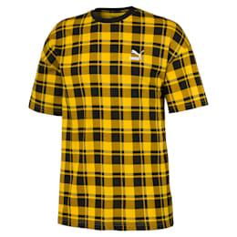 Evolution Check-T-shirt til mænd
