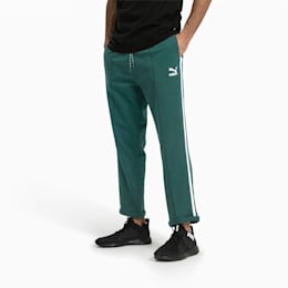 Evolution Tapered Knitted Men's Sweatpants, June Bug, small