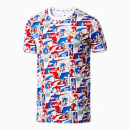 T-Shirt PUMA x SONIC avec impression allover pour homme