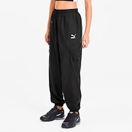 Pantalones Utility Classics para mujer, Puma Black, pequeño